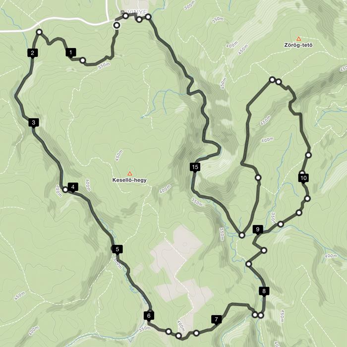 Cuha Trail M